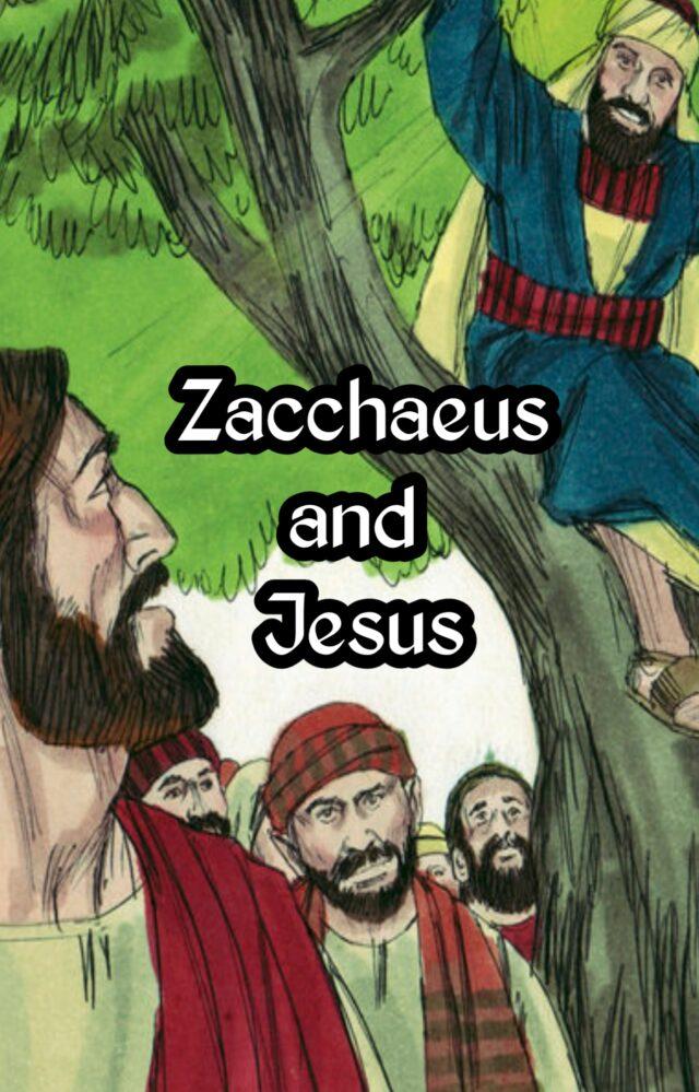 Zacchaeus Story in Hindi